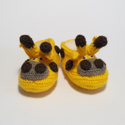 Giraffe baby shoes