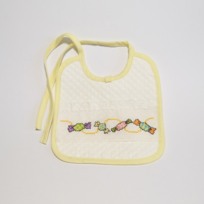 Little embroidered bib