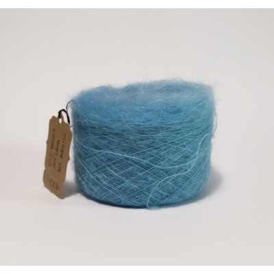Turquoise mohair