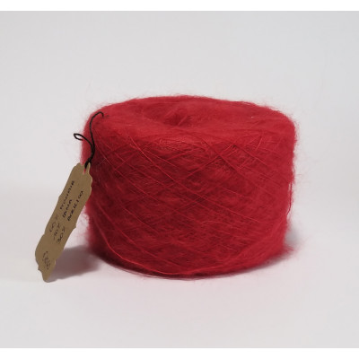 Mohair rosso
