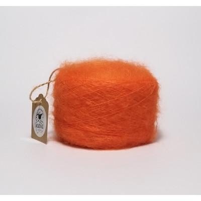 Orange superkid mohair