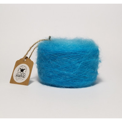 Turquoise superkid mohair