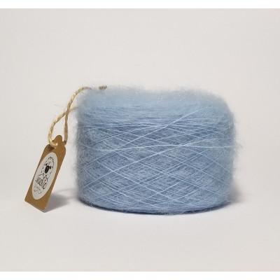 Light blue superkid mohair